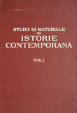 Studii si materiale de istorie contemporana